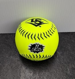"Louisville Slugger LOUISVILLE 11"" COR.47 NSA SYNTHETIC YELLOW SOFTBALL"