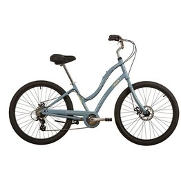 "Evo EVO, Seabrook Step Thru Comfort/Path Bicycle, Mist Blue, 17"""