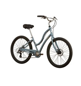 Evo EVO, Seabrook Step Thru Comfort/Path Bicycle, Mist Blue, 17""