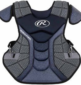 """Rawlings RAWLINGS VELO CATCHERS CHEST PROTECTOR INTER 15.5"""" BLACK"""