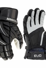 Warrior WARRIOR EVO LACROSSE GLOVE SENIOR MEDIUM - BLACK