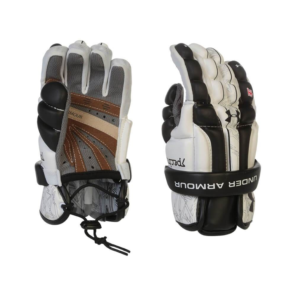 Under Armour UNDER ARMOUR SPECTRE LACROSSE GLOVES - BLK/WHT - SMALL
