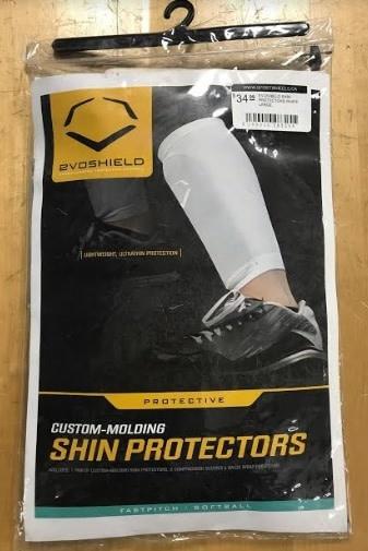 Evo Shield EVOSHIELD SHIN PROTECTORS WHITE LARGE