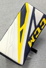 CCM Hockey CCM GB EXTREME FLEX PRO 4 SENIOR BLOCKER WHT/NVY/YLW