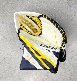CCM Hockey CCM CG EXTREME FLEX PRO 4 SENIOR TRAPPER WHT/NVY/YLW