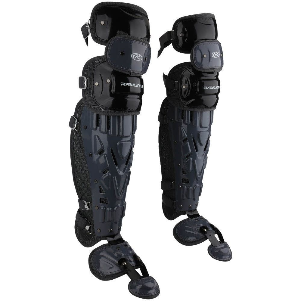 "Rawlings RAWLINGS VELO CATCHERS LEG GUARDS ADULT 16.5"""