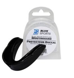 BLUE SPORTS BLUE SPORTS STRAPLESS MOUTHGUARD ADULT BLACK