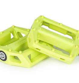 SALT PLUS SALT AM PEDALS - Nylon Neon Yellow