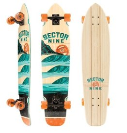 Sector 9 Sector 9 Complete Longboard - Stacked Strand 34""