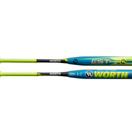"Miken 2019 WORTH EST HYBRID 12.5"" XL SOFTBALL BAT USSSA"