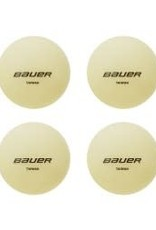 Bauer Hockey BAUER GLOW IN THE DARK HOCKEY BALL 4 PACK