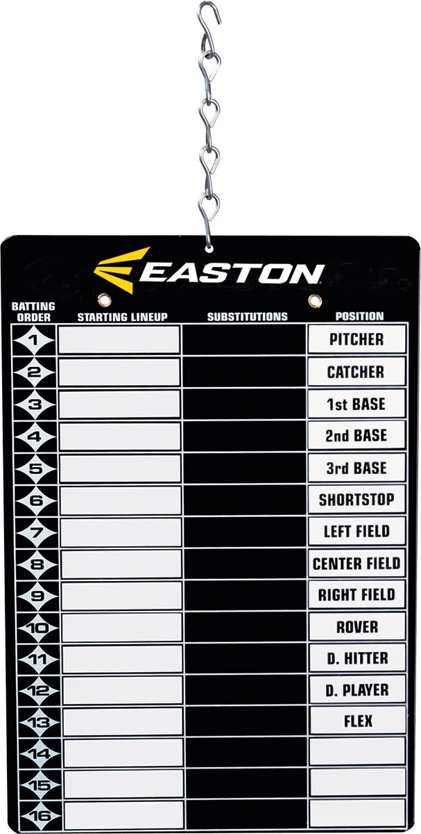 Easton Easton Baseball Magnetic Line Up Board