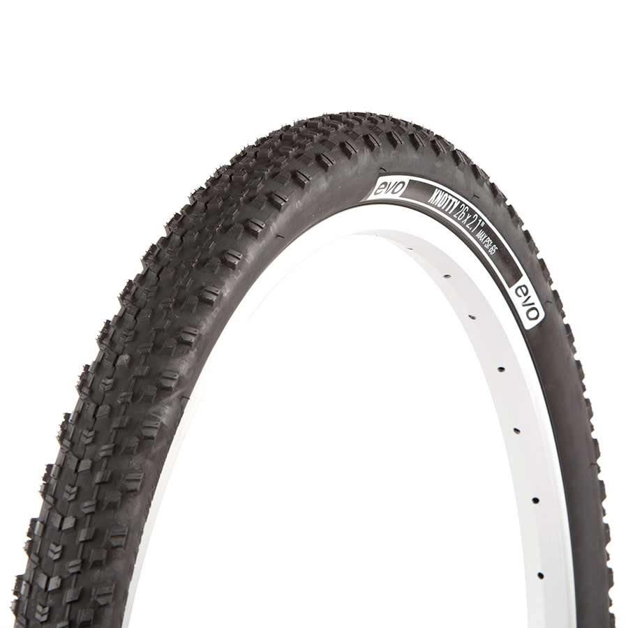 Evo EVO, Knotty, Tire, 27.5''x2.10, Wire, Clincher, Black