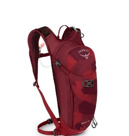 Osprey Osprey Siskin 8 Hydration Pack: Molten Red