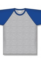 Athletic Knit ATHLETIC KNIT ACTIFLEX 3/4 BASEBALL T-SHIRT HMB