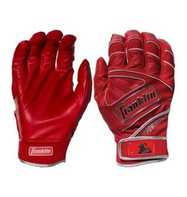 FRANKLIN FRANKLIN POWERSTRAP CHROME BATTING GLOVE ADULT