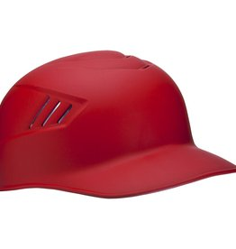 Rawlings Rawlings Adult Coolflo Base Coach Helmet Mat Scarlet LRG