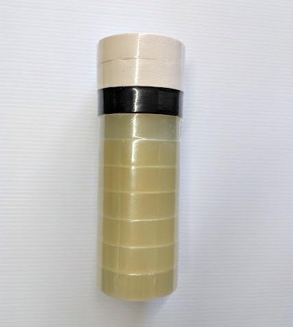 RENFREW Renfrew tape 10 pk - 7 CLEAR/ 2 WHITE/ 1 BLACK