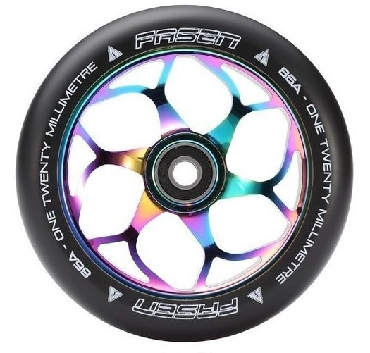 FASEN FASEN OIL SLICK WHEEL 120MM