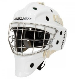 Bauer Hockey - Canada Bauer S19 NME IX GOAL MASK FT2 6.7/8-7.1/4 WHITE
