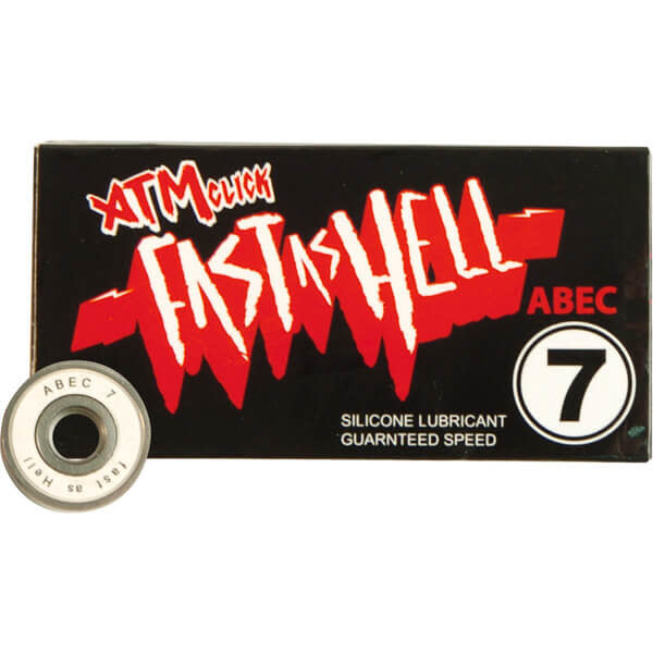 ATM ATM Bearings - Fast as Hell - Abec 7 - set.