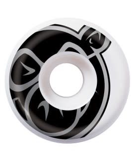 PIG Pig Wheels - Prime - 53mm - Wht/blk - set of 4.