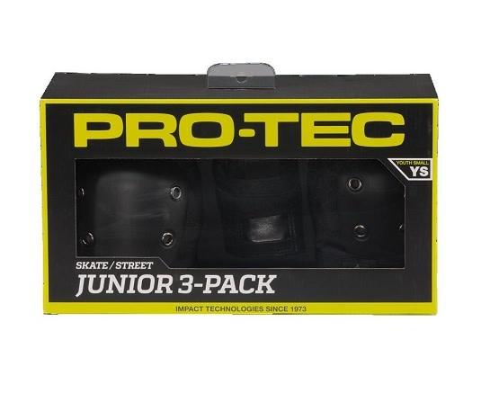 PROTEC Protec 3 Pack Pad Set - Junior