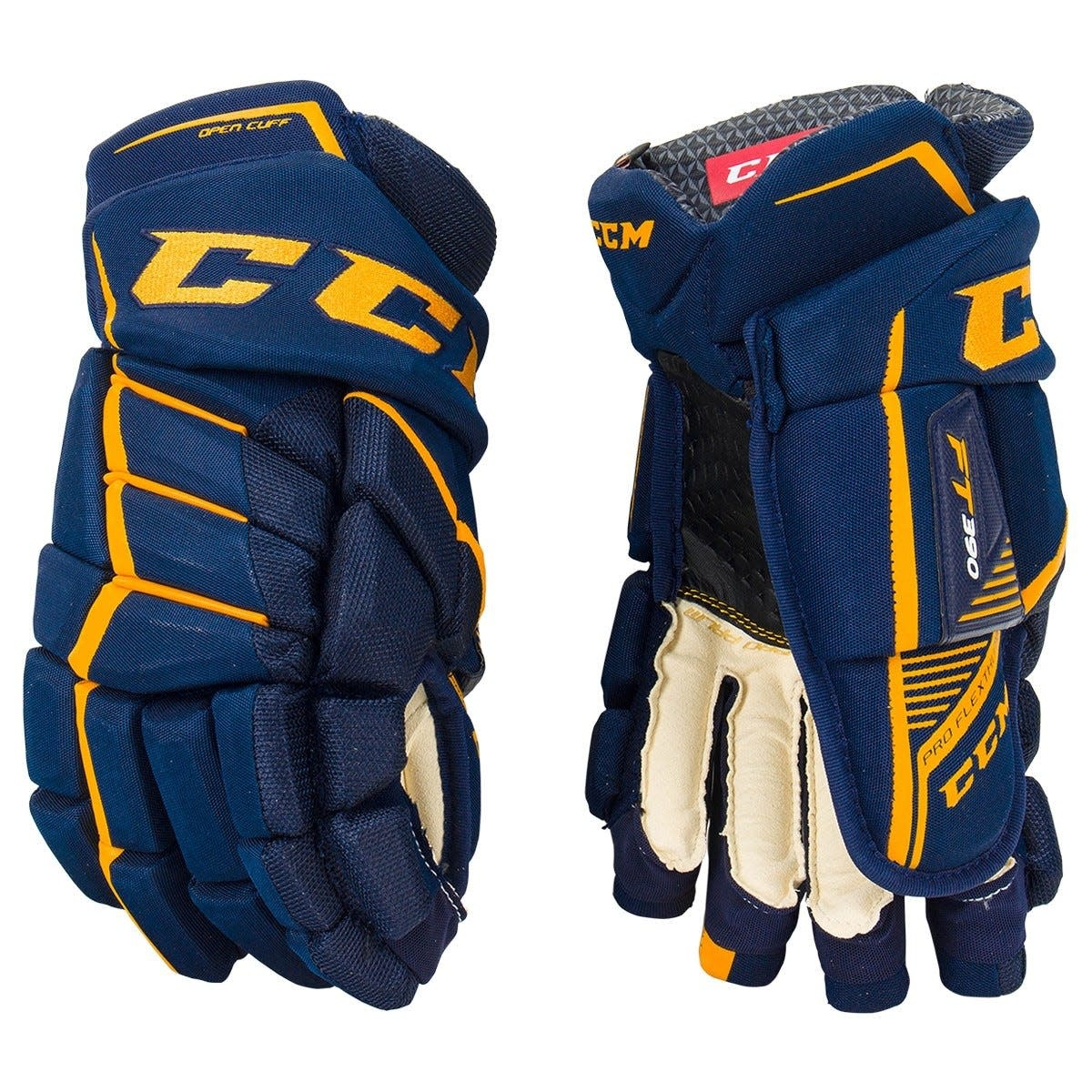 CCM Hockey 2018 CCM HG JETSPEED FT390 JUNIOR GLOVES