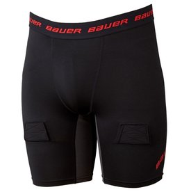 Bauer Hockey BAUER S19 ESSENTIAL COMPRESSION JOCK SHORT JR (Yth)