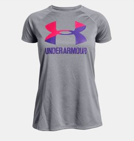 Under Armour UNDER ARMOUR GIRLS BIG LOGO TEE