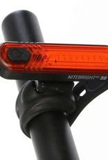 Evo EVO, NiteBright 30, Light, Rear, Black