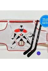 Team Canada TEAM CANADA PRO MINI NET QUICKNET INCL 2 PLAYER  STICKS  / BALL