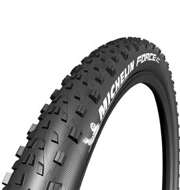 Michelin Michelin, Force XC Comp, Tire, 27.5''x2.25, Folding, Tubeless Ready, GUM-X, Black
