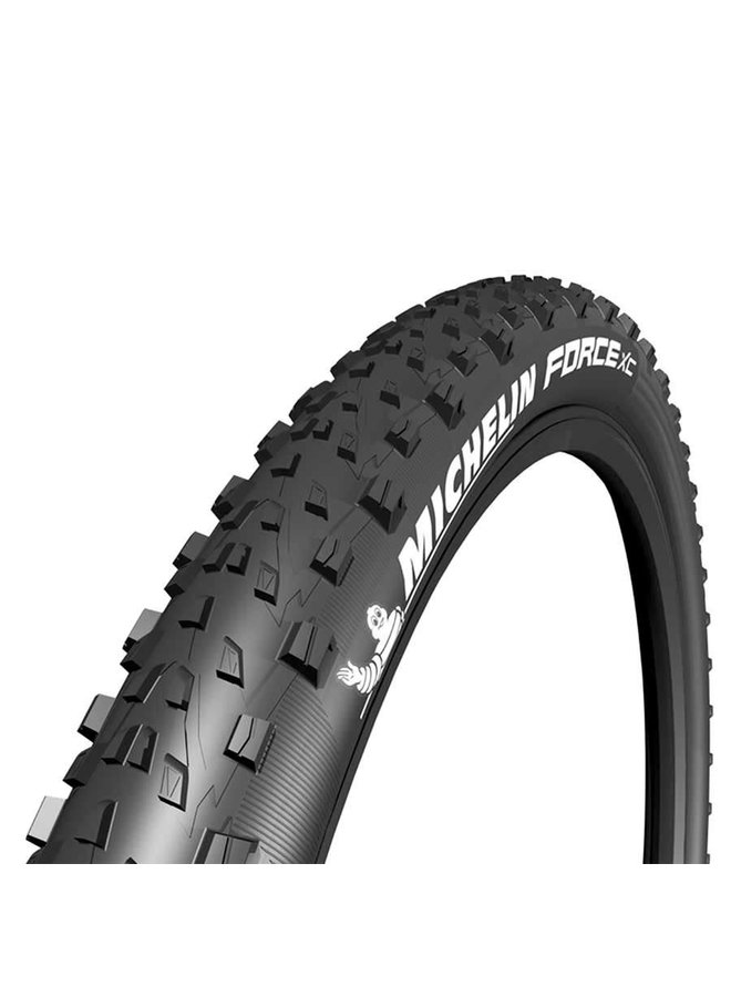 Michelin, Force XC Comp, Tire, 27.5''x2.25, Folding, Tubeless Ready, GUM-X, Black