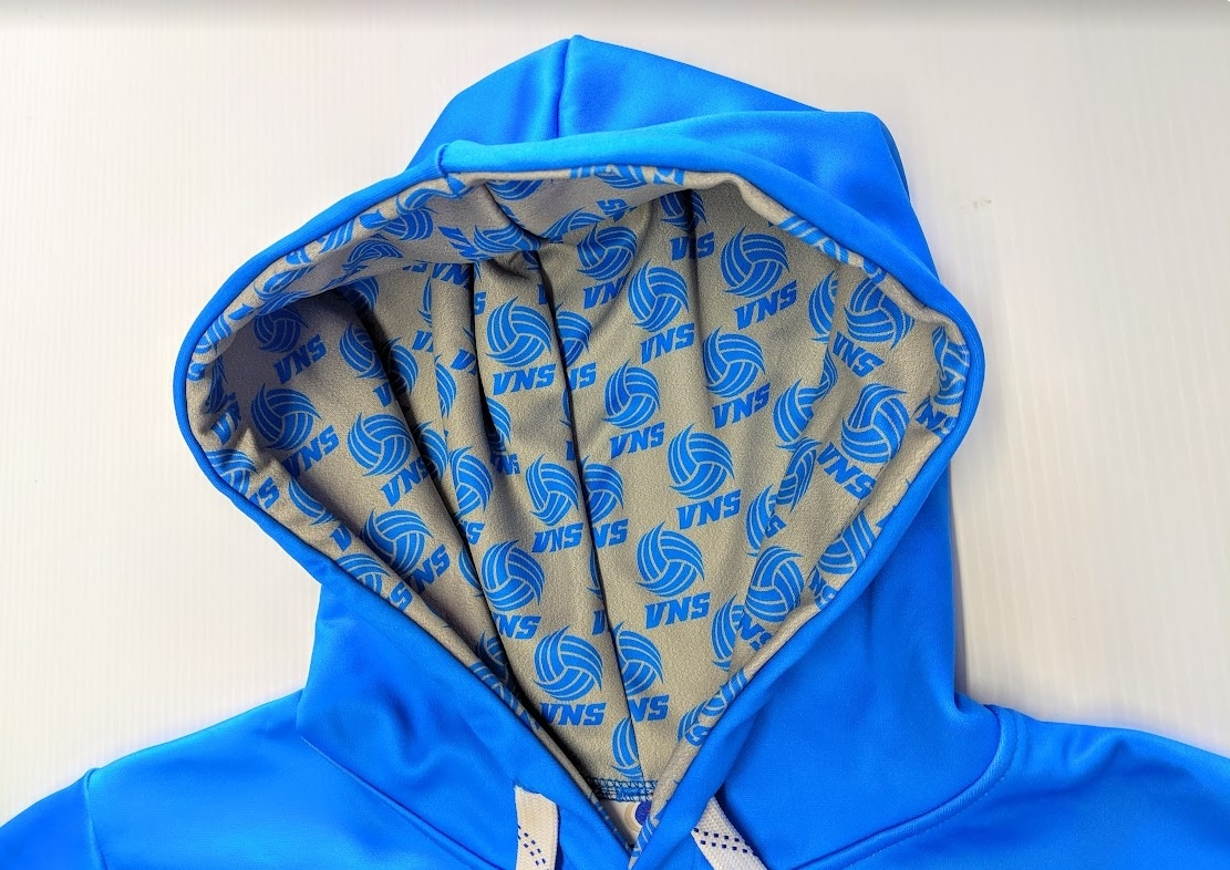Sportwheels VOLLEYBALL NOVA SCOTIA VNS SUBLIMATED HOODIE