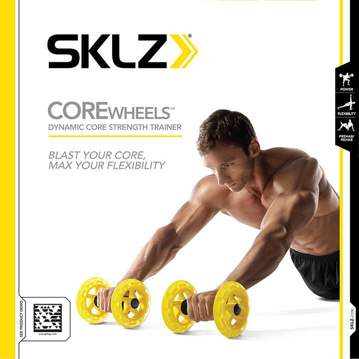 Sklz SKLZ CORE WHEELS 2PK SPEED AND CONDITIONING