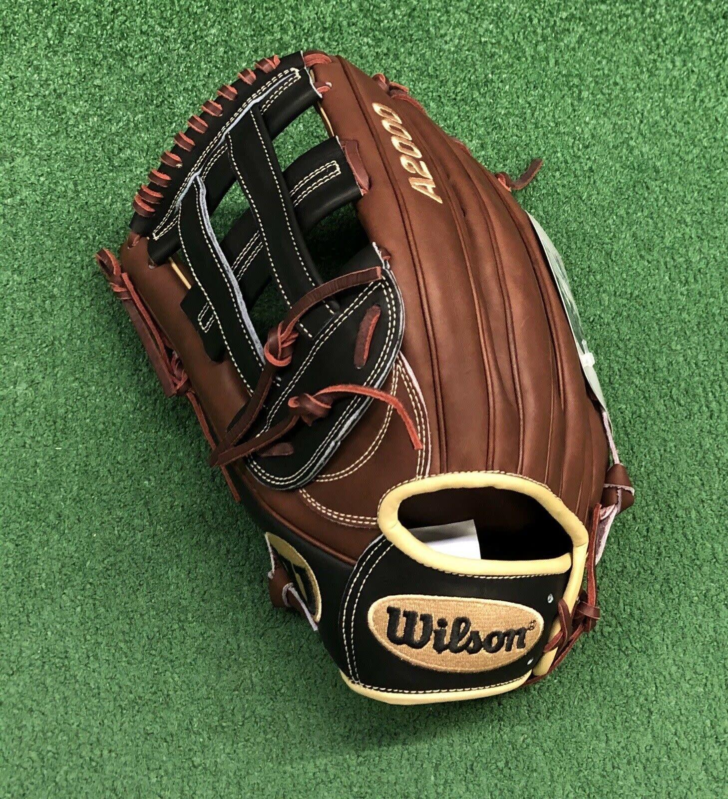 "Wilson 2020 WILSON A2000 1799 BBG BRN/BLONDE 12.75"" LHT"
