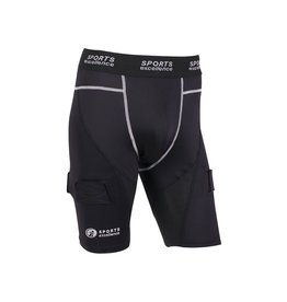 Sports Excellence SPORTS EXCELLENCE COMPRESSION JOCK SHORT -YTH