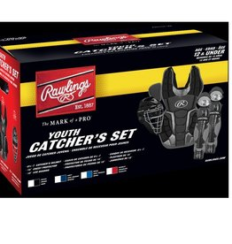 Rawlings RAWLINGS YOUTH RENEGADE 2.0 CATCHERS SET AGES 12 & UNDER BLK/SIL