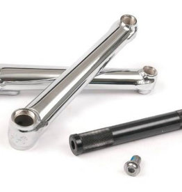 Cult Cult Crew Cranks - BMX Crank set - 165mm - 19mm spindle - Chrome