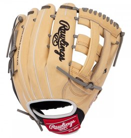 Rawlings Rawlings HOH 12.75 in Outfield w/Finger Shift Glove Camel/Black 12 3/4