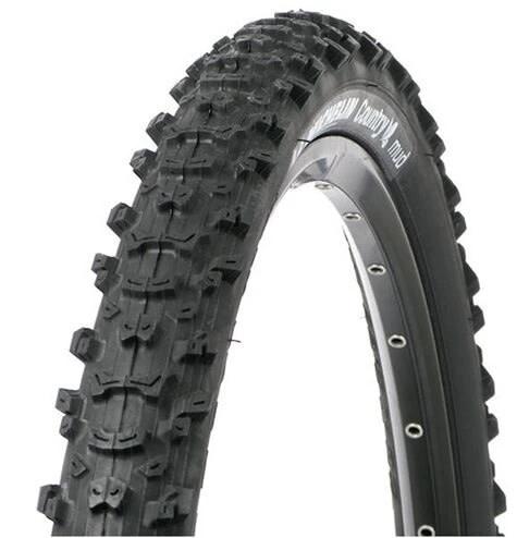 Michelin Michelin, Country Mud, Tire, 26''x2.00, Wire, Clincher, 30TPI, Black