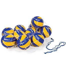 CATSPORTS SQUARE MESH BALL BAG - HOLDS 12 VOLLEYBALLS