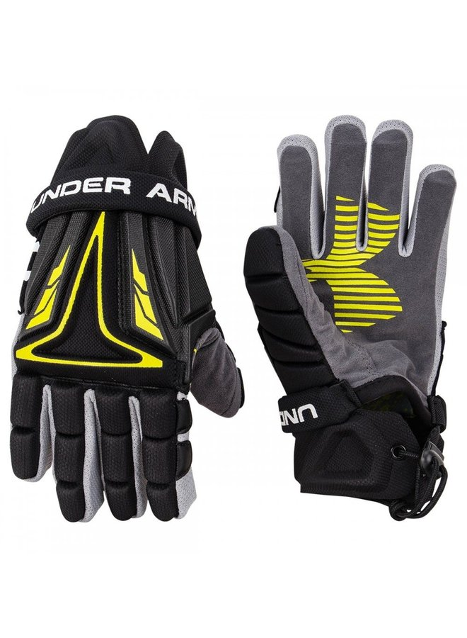 UNDER ARMOUR NEXGEN LACROSSE GLOVES X-SMALL