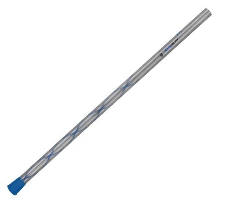 Brine BRINE KING BEAT DEFENSE SHAFT LACROSSE HANDLE - GUNMETAL/BLUE