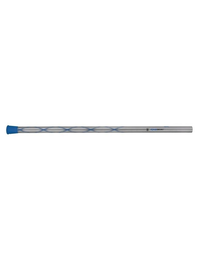 BRINE KING BEAT DEFENSE SHAFT LACROSSE HANDLE - GUNMETAL/BLUE