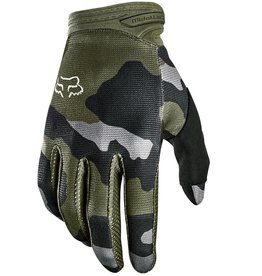 FOX FOX DIRTPAW PRZM CAMO RACE GLOVES YOUTH