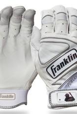 FRANKLIN FRANKLIN POWERSTRAP CHROME BATTING GLOVE ADULT