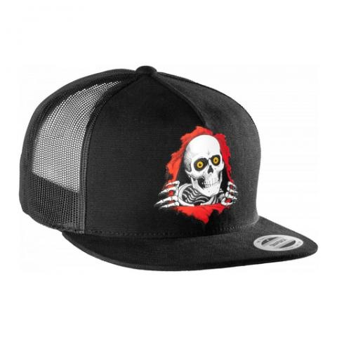 Powell Powell Peralta Hat - Ripper - Black - Snap Back