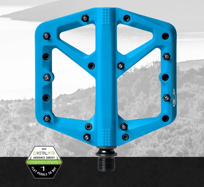 Crank Brothers CRANK BROTHERS STAMP1 PEDAL LRG BLUE